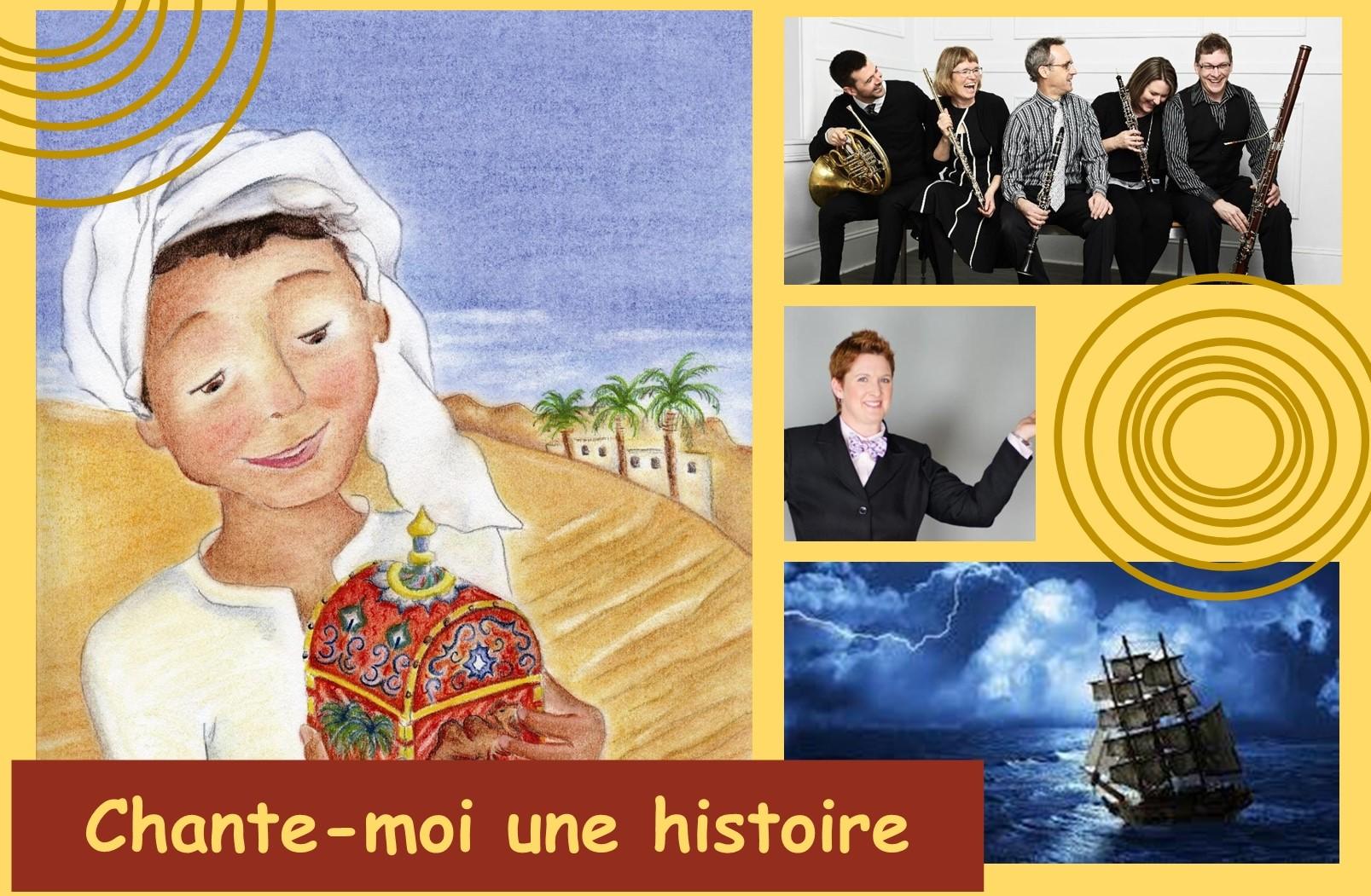 Vitrine Intégrale - Francofête en Acadie 2019 - Chante-moi une histoire